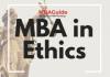 2021 Best MBA Programs in Ethics – GMAT Scores, Salaries, Rankings