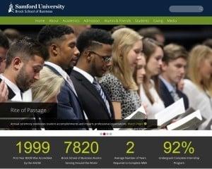 Brock School of Business at Samford University MBA Program in Birmingham, AL