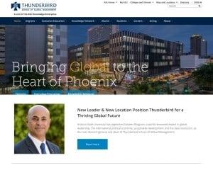 School of Global Management at Thunderbird School of Global Management MBA Program in Glendale, AZ