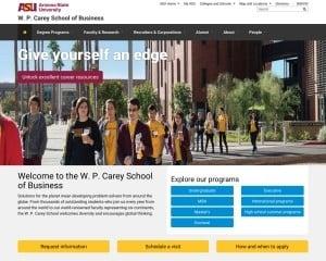 Arizona State University MBA from AZ