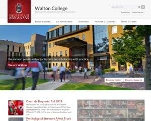 Sam M. Walton College of Business at University of Arkansas MBA Program in Fayetteville, AR