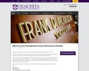 Ouachita Baptist University MBA from AR
