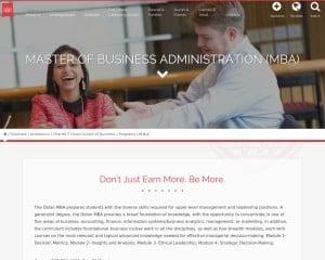 MBA in Data Analytics from Fairfield University