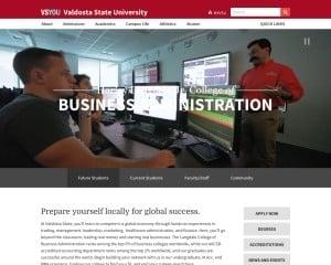 Harley Langdale, Jr. College of Business Administration at Valdosta State University MBA Program in Valdosta, GA