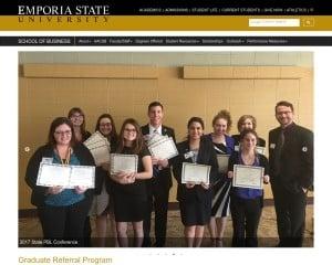 Emporia State University MBA from KS