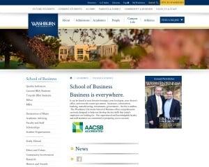 Washburn University MBA from KS