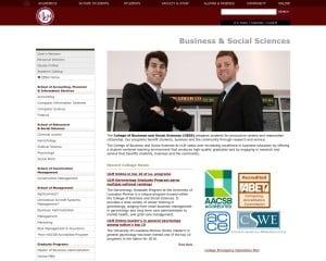 University of Louisiana at Monroe MBA from LA