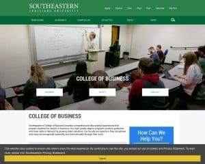 College of Business at Southeastern Louisiana University MBA Program in Hammond, LA