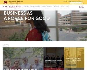 Carlson School of Management at University of Minnesota MBA Program in Minneapolis, MN