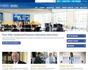 Heider College of Business at Creighton University MBA Program in Omaha, NE