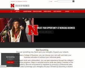 University of Nebraska-Lincoln MBA from NE