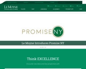 Le Moyne College MBA from NY