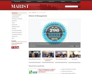 School of Management at Marist College MBA Program in Poughkeepsie, NY