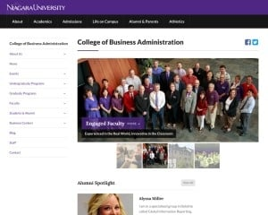Niagara University MBA from NY