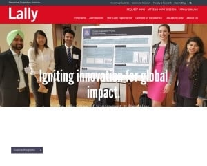Lally School of Management at Rensselaer Polytechnic Institute MBA Program in Troy, NY