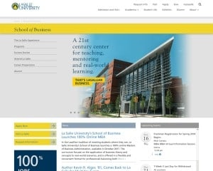School of Business at La Salle University MBA Program in Philadelphia, PA
