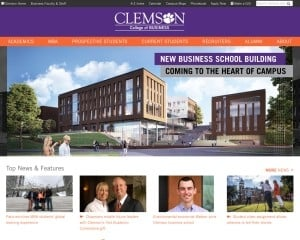 College of Business and Behavioral Science at Clemson University MBA Program in Clemson, SC