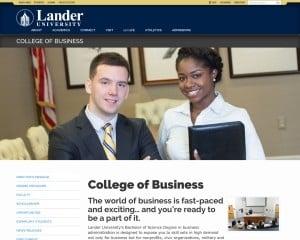 Lander University MBA from SC