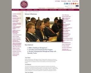 South Carolina State University MBA from SC