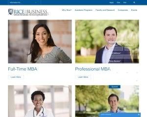 Jesse H. Jones Graduate School of Business at Rice University MBA Program in Houston, TX
