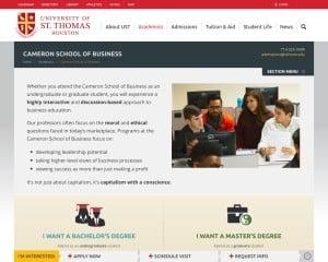 University of St. Thomas-Houston MBA from TX
