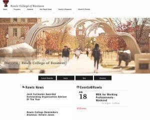Texas Tech University MBA from TX