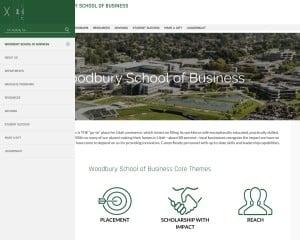 Woodbury School of Business at Utah Valley University MBA Program in Orem, UT