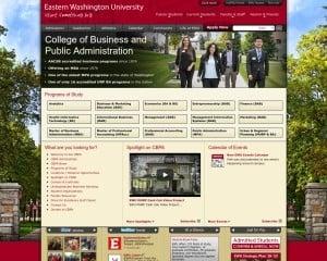 College of Business at Eastern Washington University MBA Program in Spokane, WA