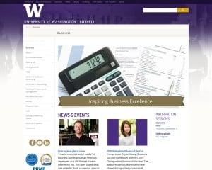 School of Business at University of Washington Bothell MBA Program in Bothell, WA